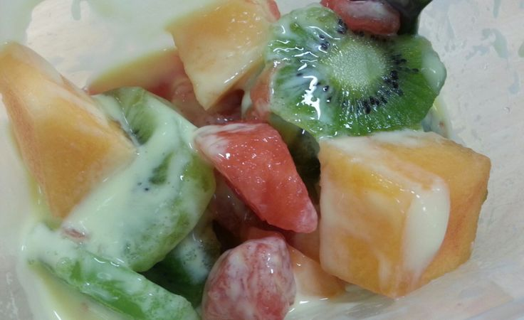 Fruit Salad and healthy living.