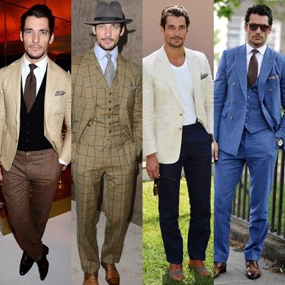 We recap the style wins of Britain's most famous male model...