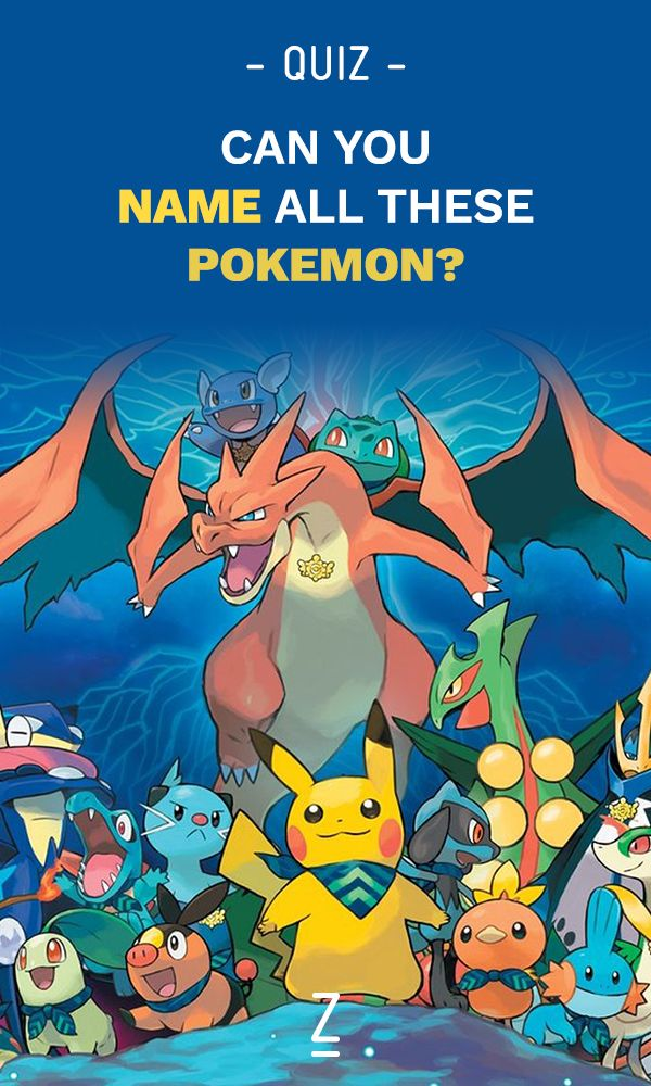How well do you know Pokemon names?  [Trivia Game]