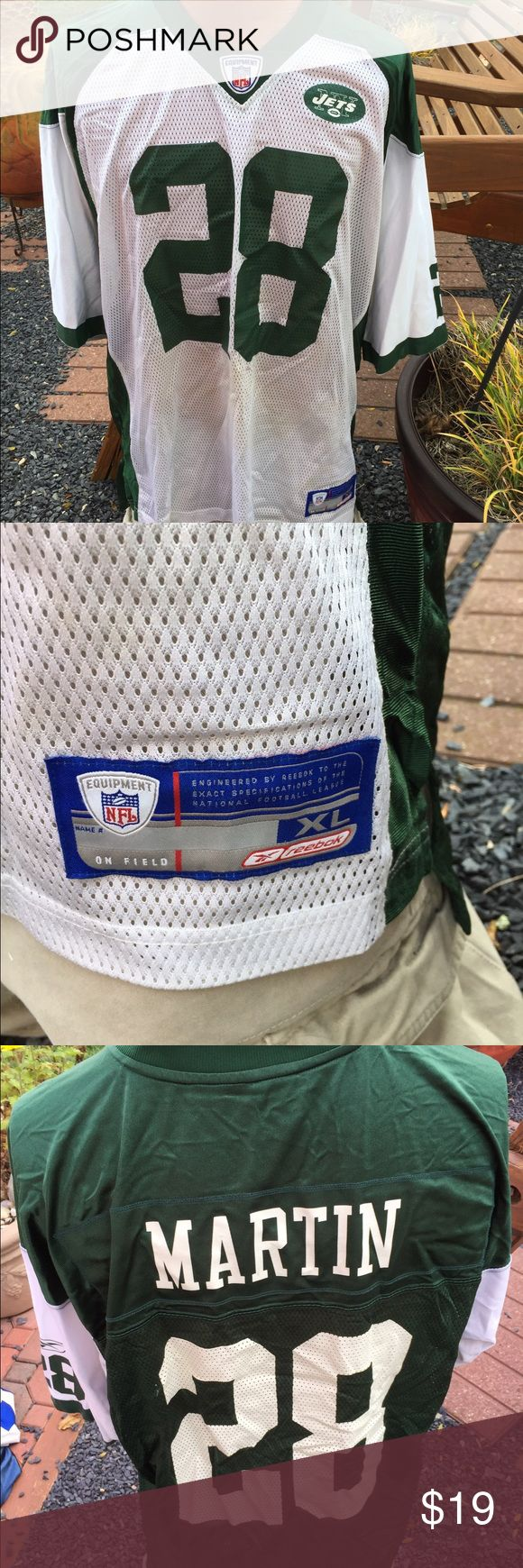 Reebok New York Jets Curtis Martin Jersey Size XL Size XL. Gently preowned Reebok Shirts