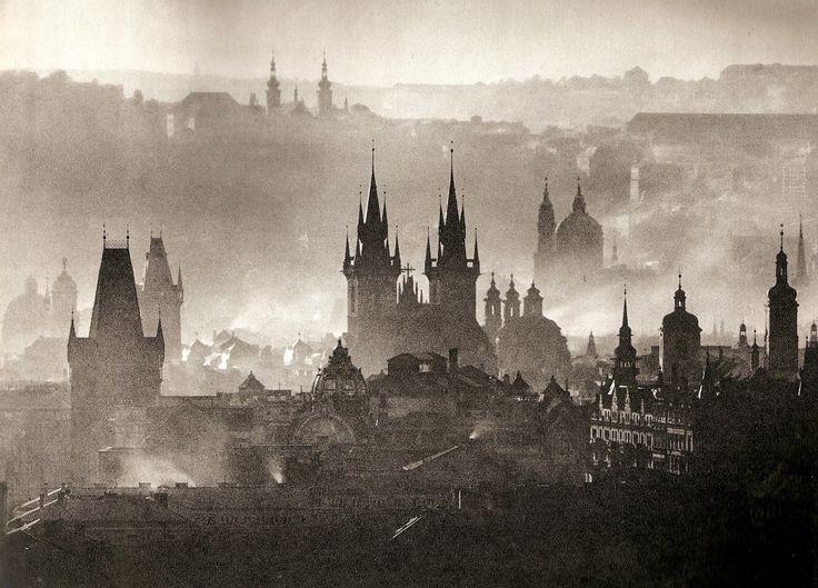 lostandfoundinprague:  Prague by Great Karel Plicka