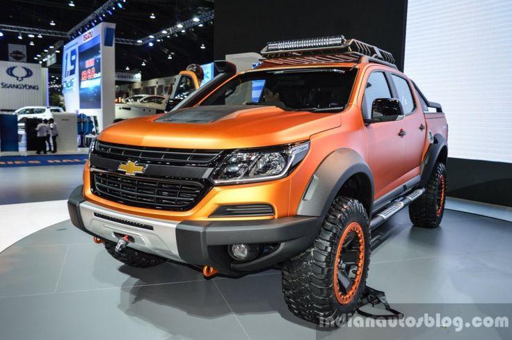 Chevrolet colorado xtreme 2016 bangkok live chevrolet
