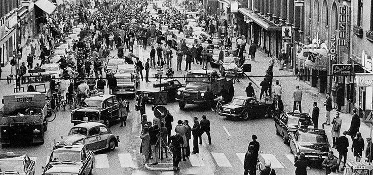 Insolite : le jour où la Suède passa à la conduite à droite...