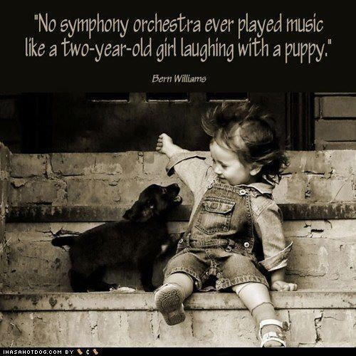 That's T and her puppy :)Music, Photos, Dogs Quotes, Little Girls, Puppies, Hunt'S Dogs, Two Years Old, Laughter, Animal