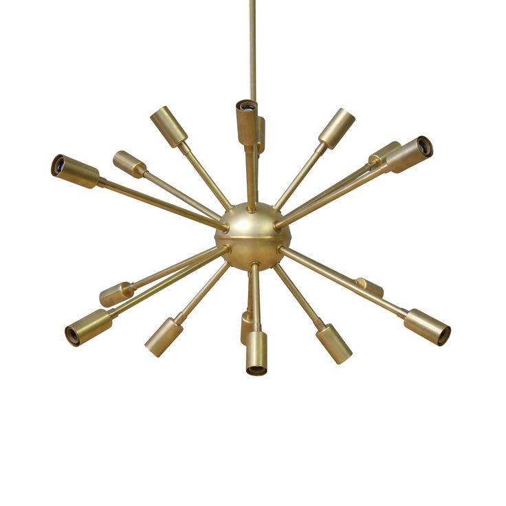 Add A Burst Of Retro Charm To Your Room With This Brass Stunner We Work