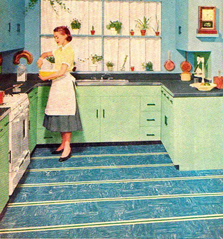 43 best floors images on pinterest | vintage kitchen, retro