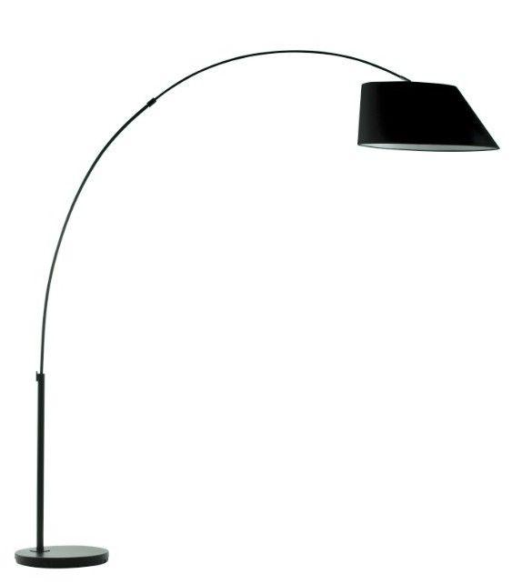 Lampadaire Arc Noir de la marque hollandaise Zuiver sur MonDesign.com #black #noir #arc #lampadaire #lamp #design #elegant #interiordesign #homedecor #lamp