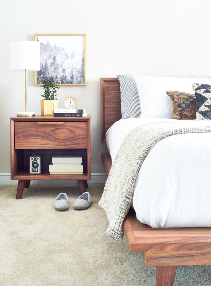 Attic Bedroom Tour | Take a Peek at Pinch of Yum's Master Bedroom Makeover @wayfair