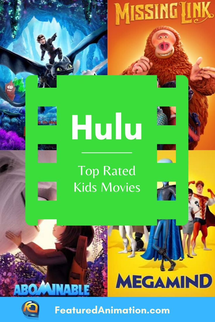 Hulu top animated movies for kids in 2020 animated