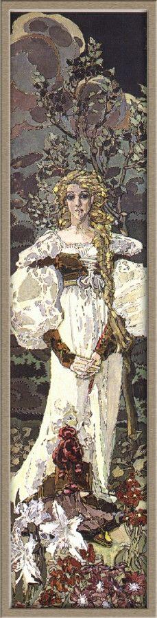 Mikhail Vrubel - Margaret, 1896