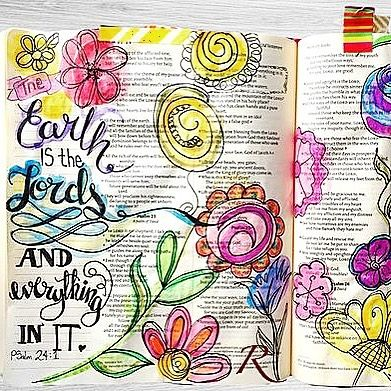 Psalm 24: / rashaeljonesart