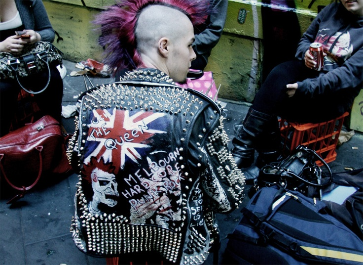 Punk #Subcultures #Fashion