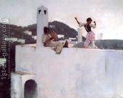 Capri  by John Singer Sargent