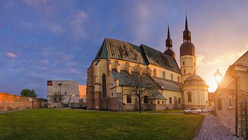Trnava_bazilika sv. Mikulasa - foto: M. Koprda
