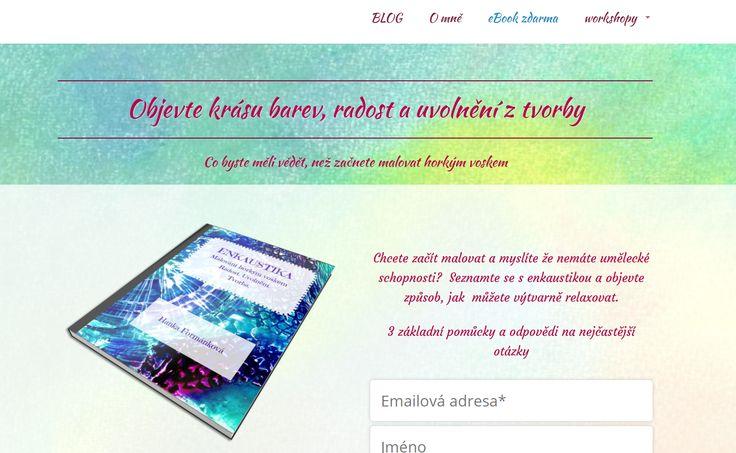 Hanka Formánková a její ebook ZDARMA: Objevte krásu barev, radost a uvolnění z tvorby