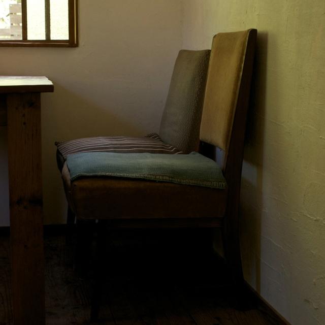 Chair at cafe (Iwaki, Fukushima, JAPAN/2012.05)