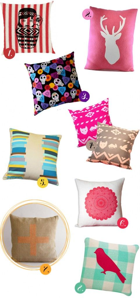 La Donna Moderna showcases some funky, gorgeous cushions - all NZ Made.