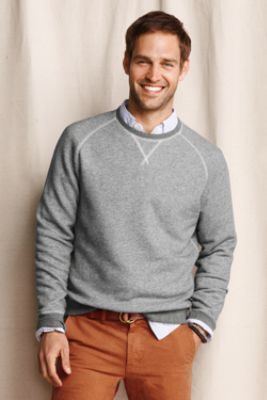 Sweaters shirts underneath for Crew neck sweater with collared shirt