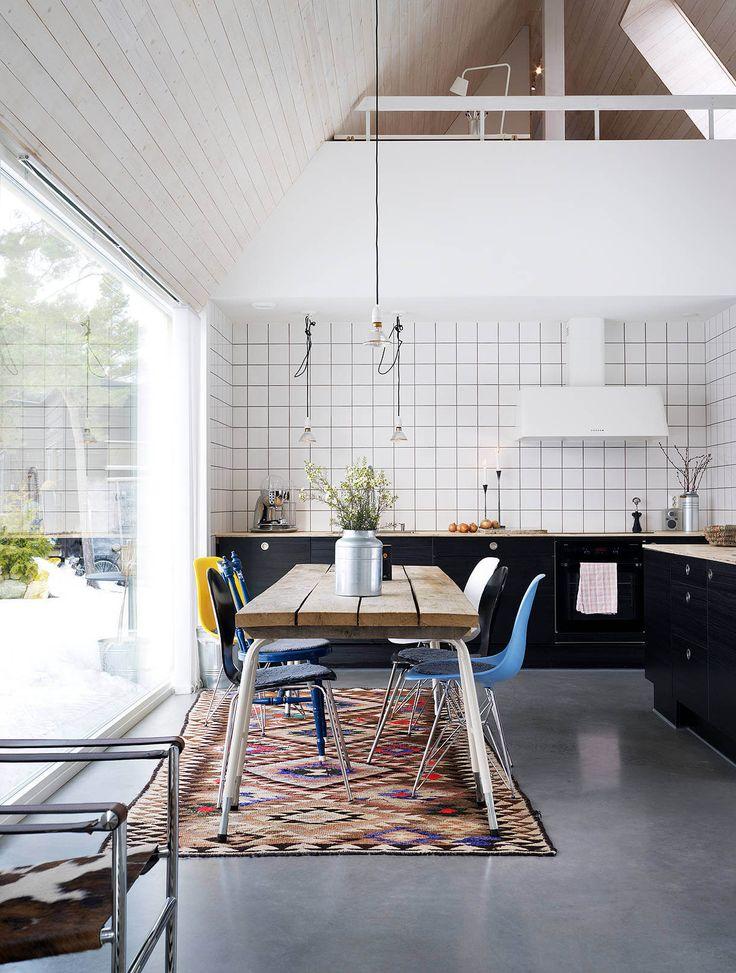 Villa Birkeland by Delin Arkitektkontor Kitchen and Dining