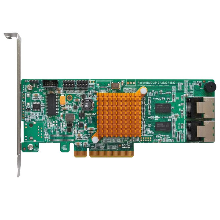 HighPoint 8-Channel SATA 6Gbps PCI-Express 2.0 x 8 RAID HBA Hard Drive RocketRAID 3620