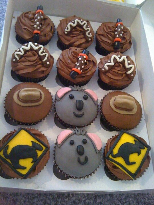 Aussie cupcakes!