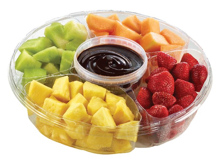 Yummy's Fruit Platter with Chocolate Dip from #YummyMarket