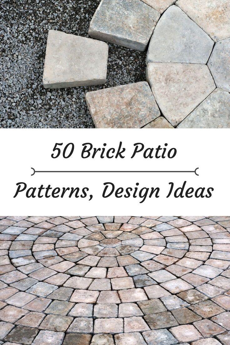 50 Brick Patio Patterns Designs And Ideas Brick Patios Brick