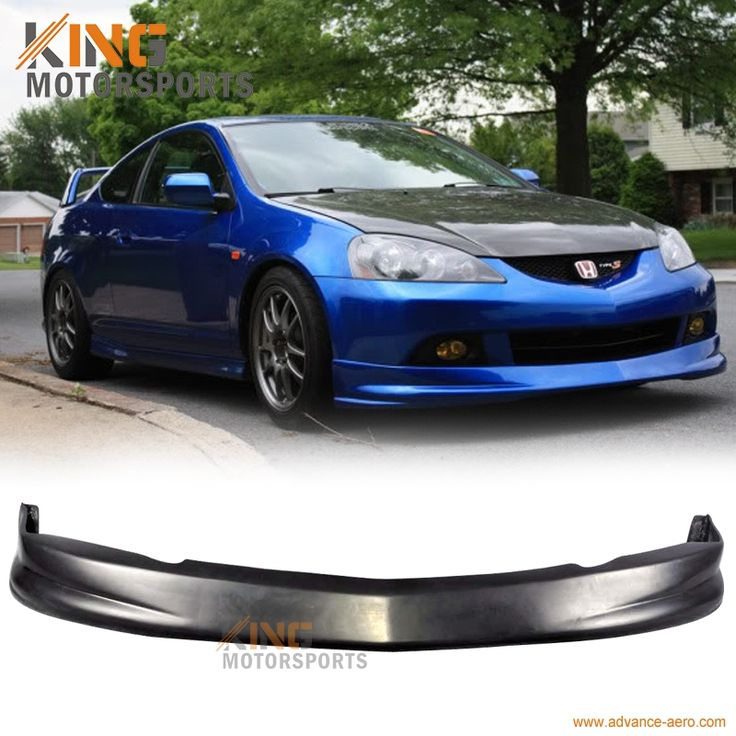 68.39$  Watch now - Fit for 2005 2006 Acura RSX Coupe DC5 P1 Type PU Front Bumper Lip Spoiler Bodykit  #buymethat