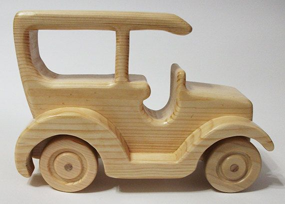 Handmade Model wooden Toy Cars Vintage model cars by RikmaProducts