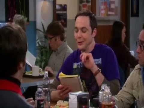 Sheldon laughed so hard in Physics Mad Lib- The Big Bang Theory S5x16