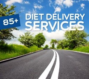 The best list to find the right diet food delivery service that fits your needs.