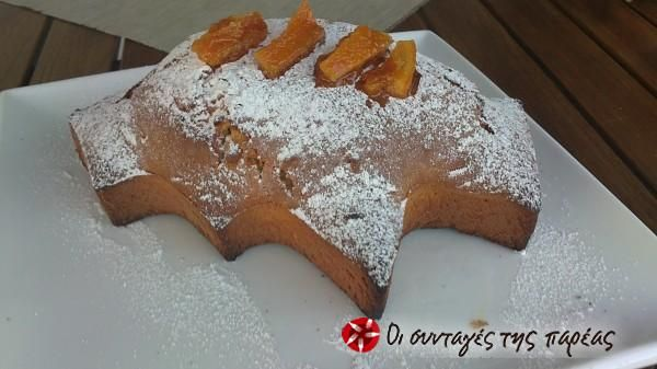 Γρήγορο κέικ πορτοκάλι #sintagespareas