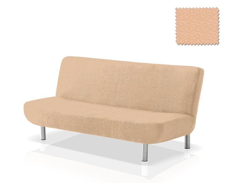 housse clic clac beige housse clic clac nouettes jacquard. Black Bedroom Furniture Sets. Home Design Ideas