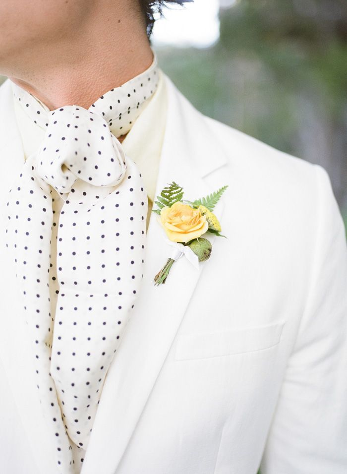 10 Ways to Style Your Groom (and his men) Vintage - Cravats