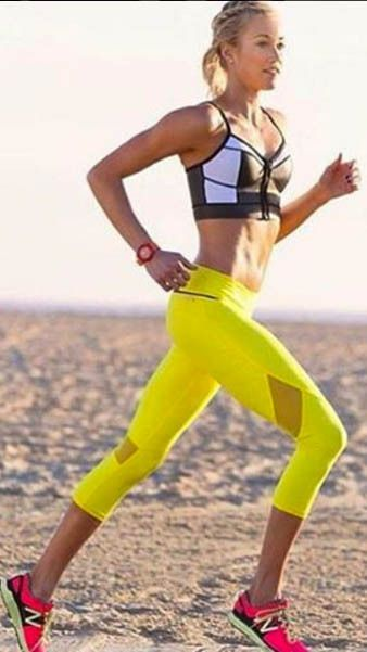 Love the yellow and Black Combo here ~~ALALA luxury women's activewear is both comfortable and trendy!