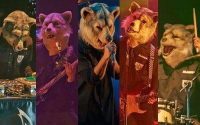 Japanese band - MAN WITH A MISSION