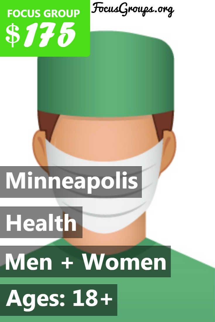 Fieldwork Minneapolis is currently recruiting NURSES to participate in a 30-minute research project August 8th – 10th. The project will consist of a non-clinical usability test to evaluate an assistive device for injections. Those who qualify and participate will receive a $175 Visa card for sharing their time and feedback. We are specifically looking to speak with those who work in the following settings: General/Family Practice; Internal Medicine; Neurology; Headache Clinic. If interested…