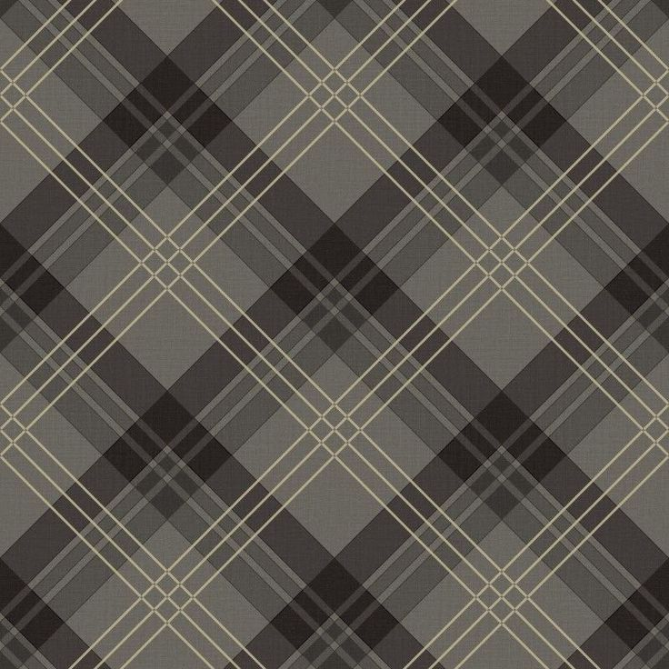 Fairburn Black Grey Tartan Wallpaper by Arthouse Vintage 252700