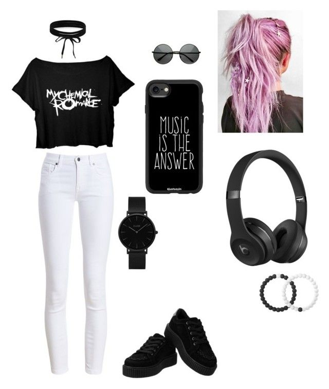 """""""Untitled #12"""" by izzyvb on Polyvore featuring Barbour, Casetify, Beats by Dr. Dre, Lokai, CLUSE and Boohoo"""