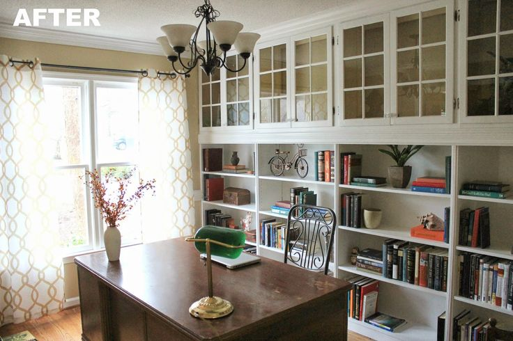 Do it yourself built in bookcase plans woodworking for Do it yourself built in bookshelves