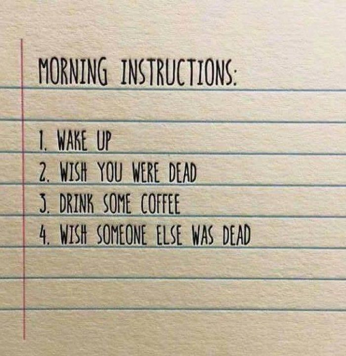 morning-instructions