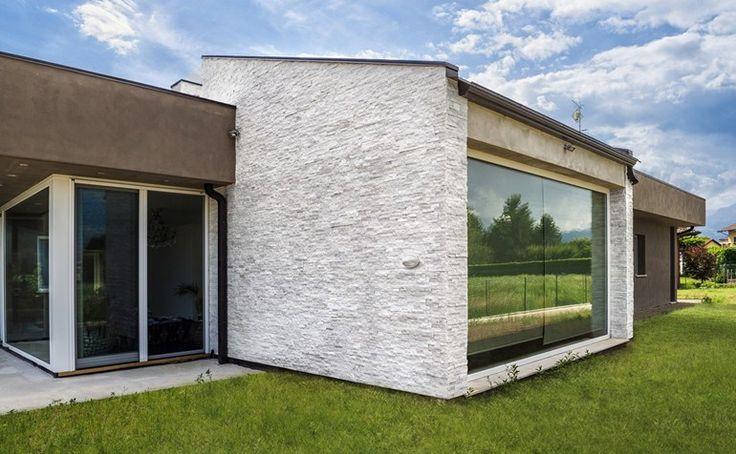 Rivestimento di facciata in pietra naturale SCAGLIA BIANCA - B&B