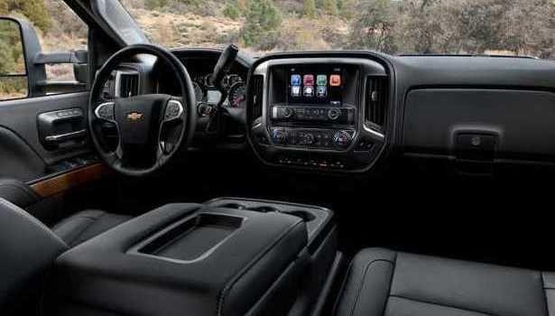 2016 Chevrolet Silverado - interior