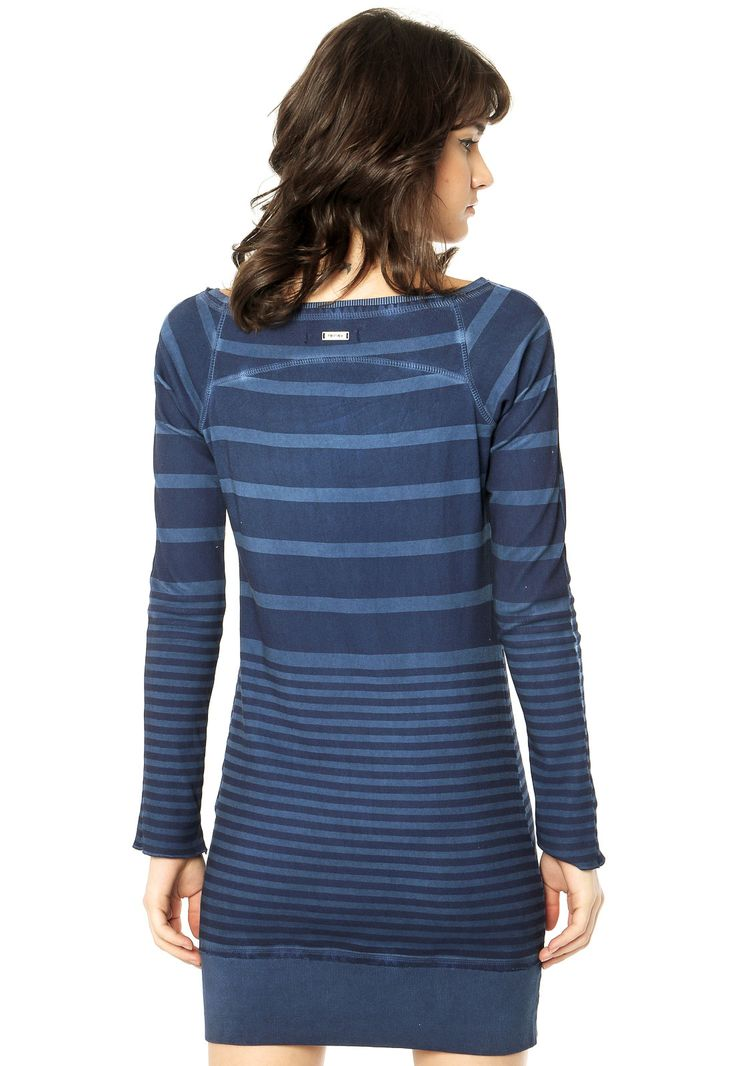 Vestido Redley Azul - Compre Agora   Dafiti Brasil