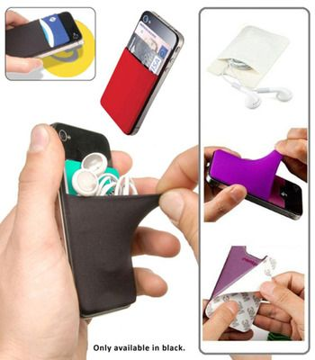 The promotional SMART WALLET PHONE POUCH is now available through Code Promotional Merchandise