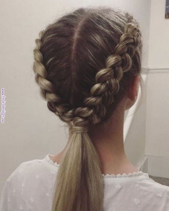 20 Simple And Easy Daily Hairstyles For Long Hair Beauties Beauties Daily Hairstyles Simple Braidedhairstyl Braided Hairstyles Hairstyle Long Hair Styles