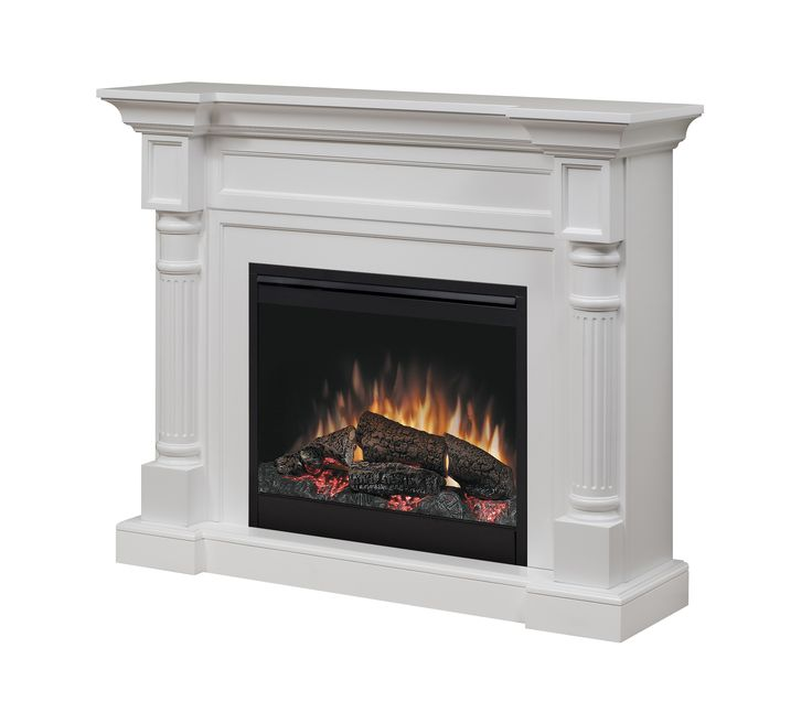 "Dimplex Winston electric fireplace with 26"" firebox; $1099.00 cdn"