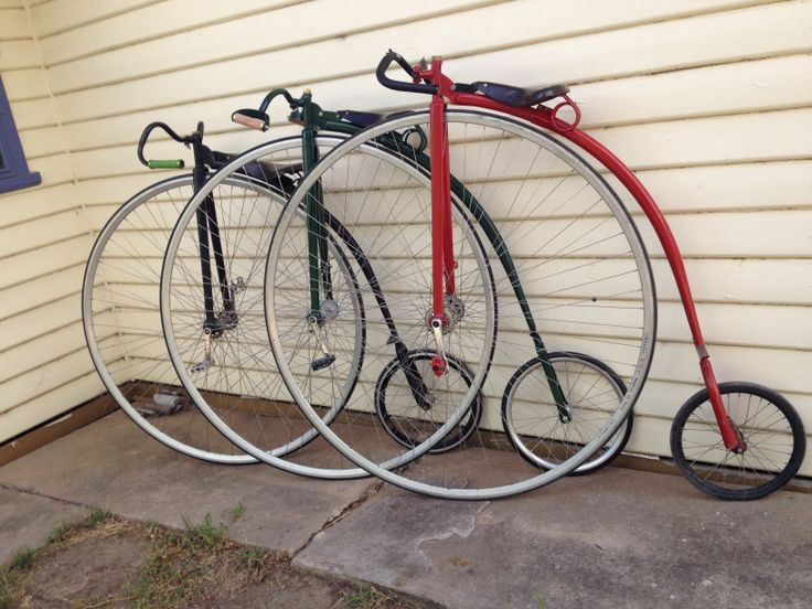 Penny Farthing Dan. Pick your wheel size and go go go.