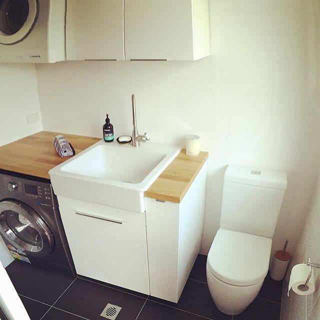 Ikea Laundry Waschkuchendesign Badezimmer Wasche Kleine Waschkuche