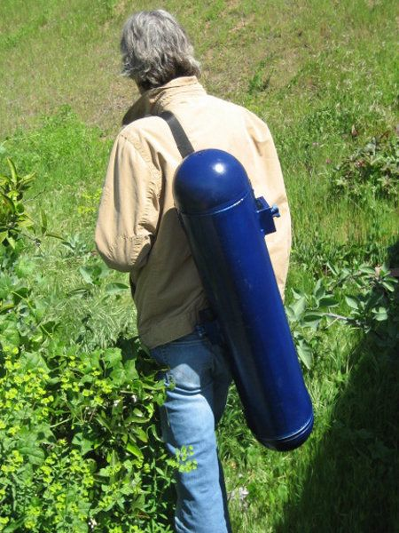 Portable Hydro-Electric backpack generator.... goes where the grid can't, which is everywhere when the grid goes down.